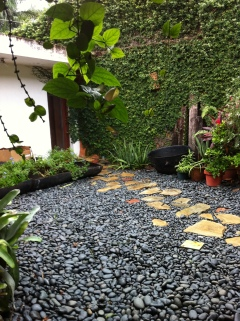 River Stone Patio