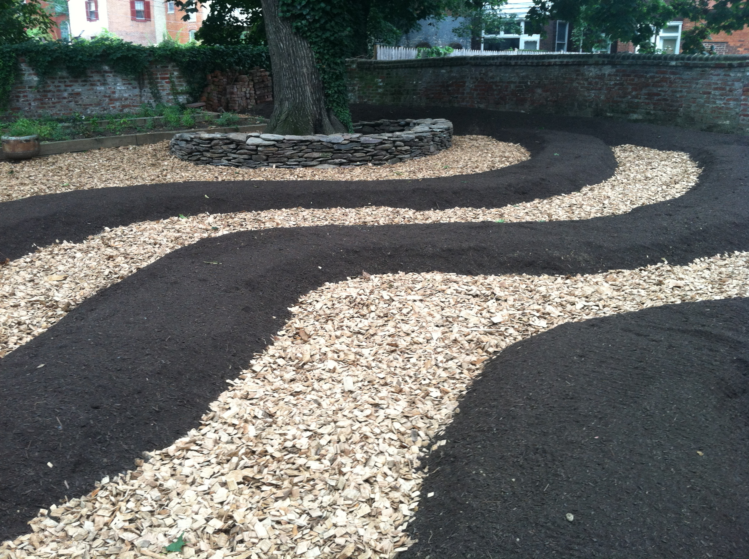 Raised Bed Gardens With Wood Chips
